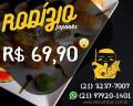 Restaurante Ebisu - Rodízio a partir de 69,90 Combo salmão especial 48pçs. Use o código EBISU20 e ganhe 20%off no site e no aplicativo. Rodízio a partir de 69,90 - Todos os dias