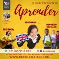 Escola Mais QI Aulas de diversos instrumentos musicais, reforço escolar e alfabetização e inglês.