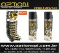 Lubrificante em spray 300ml / 200g VONDER - Indicado para lubrificação, proteção e desengripamento. - Uso industrial e automotivo, com alto poder de penetração e aditivos antioxidantes.