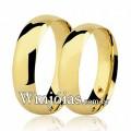 Aliancas WM2725 Modelo: Aliança de noivado e casamento Material: Ouro Amarelo 18k 750 Peso: 12 gramas o par Pedra(s): 1 rubi Largura: 5.5 milímetros Formato: Tradicional Anatômico Baixo Acabamento: Liso