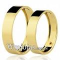 Aliancas WM2739 Modelo: Aliança de noivado e casamento Material: Ouro Amarelo 18k 750 Peso: 6 gramas o par Pedra(s): 1 rubi Largura: 4 milímetros Formato: Reta Anatômico Baixo Acabamento: Liso