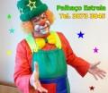 Show  para festas,mágico ,palhaço e recreadores Palhaço Estrela que faz brincadeiras, gincanas, mágicas, fantoches, pinturas de rosto e esculturas de balões, temos tambem individual Palhaços, mágicos, locutores, personagens vivo, personagens temáticos (Frozen,Peppa Pig,) , palhaço locutores,mímicos, telegrama animado, , magico para casamento,  ligue  tel. 3873 3845/ 4116 4839/ 98961 8442 ou conheça nosso site:  www.pirulitorecreacoes.com.br