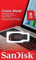 Pen Drive 8GB Sandisk Cruzer Blade Informações Técnicas Marca: SanDisk Capacidade de armazenamento: 8GB Interface: USB 2.0 Taxa de transferência: Não informado pelo fornecedor Sistemas Operacionais: Windows , Vista, MAC OS 10+ e Linux Conteúdo da Embalagem: 1 Pen Drive Dimensões aproximadas do produto (cm) - AxLxP 4x1,6x0,4cm Peso aproximado do produto (kg): 50g Modelo Cruzer Blade Fornecedor: Sandisk