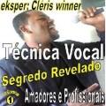 TÉCNICA VOCAL segredo revelado O curso técnica vocal reúne uma quantidade de exercícios denominados vocalizes que irão orientar o cantor em sua respiração afinação, e tempo, em cada exercício  o especialista em técnica vocal CLÉRIS WINNER  da as instruções necessárias para que o cantor possa alcançar o melhor de si  esse material é único e não é vendido em lojas.  CLIQUE ABAIXO NO WEBSITE PARA SABER MAIS!!