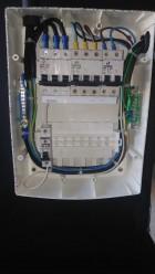 Quadro para instalação de  dois ar split trifásico