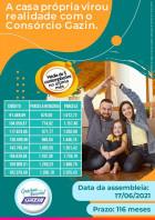 Carta de crédito vários valores consórcio Gazin .